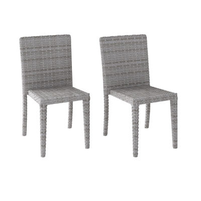 Corliving 2-pc. Patio Dining Chair