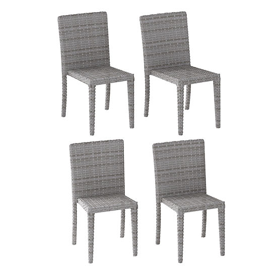 Corliving 4-pc. Patio Dining Chair