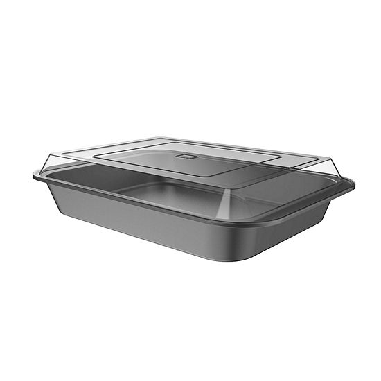 Classic Cuisine 2-pc Cake Pan And Lid Set