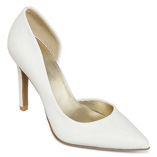 east 5th Womens Daven Closed Toe Stiletto Heel Pumps
