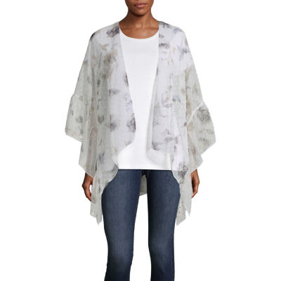 Mixit Floral Ruffle Wrap