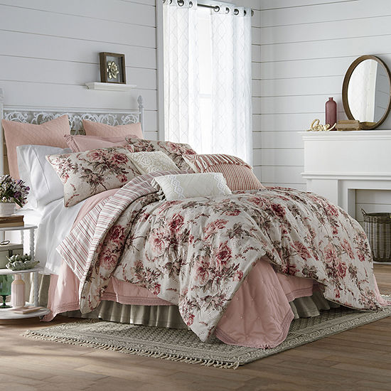 JCPenney Home Camilla 4-pc. Comforter Set & Accessories