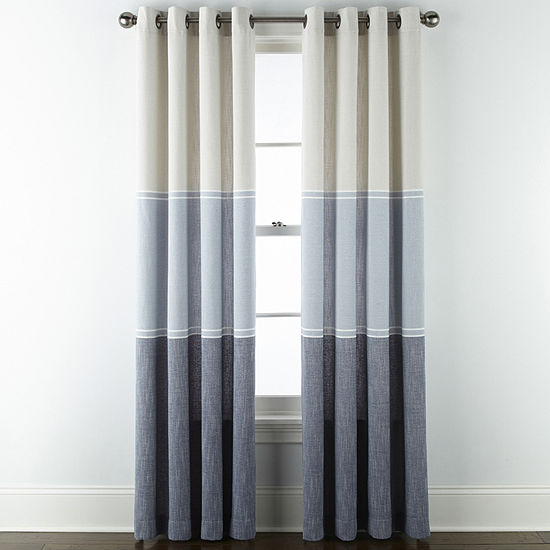 JCPenney Home Selena Room Darkening Grommet-Top Curtain Panel