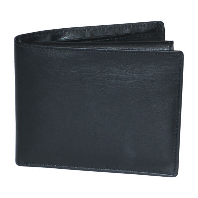 Buxton® Houston RFID Credit Card Billfold with Removable Front Pocket RFID Wallet