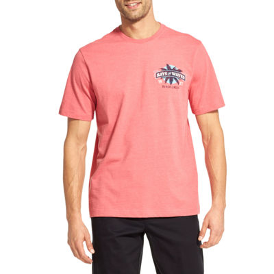 IZOD Short Sleeve Front and Back Graphic T-Shirt