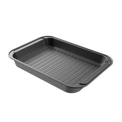 Classic Cuisine Nonstick Steel Roasting Pan