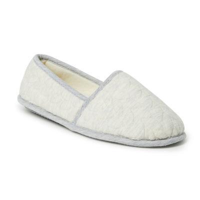 Dearfoams Mary Closed Back Slip-On Slippers