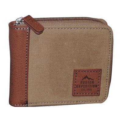 Buxton® Expedition RFID Zip Around Wallet