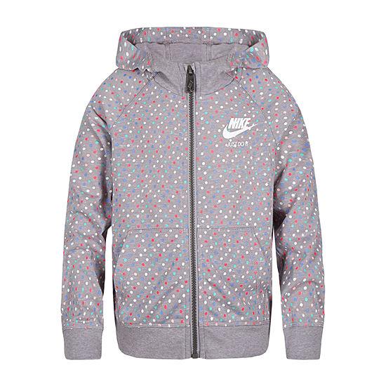 Nike-Little Kid Girls Hoodie