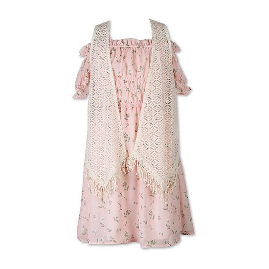 Speechless - Big Kid Girls Sleeveless Fit & Flare Dress