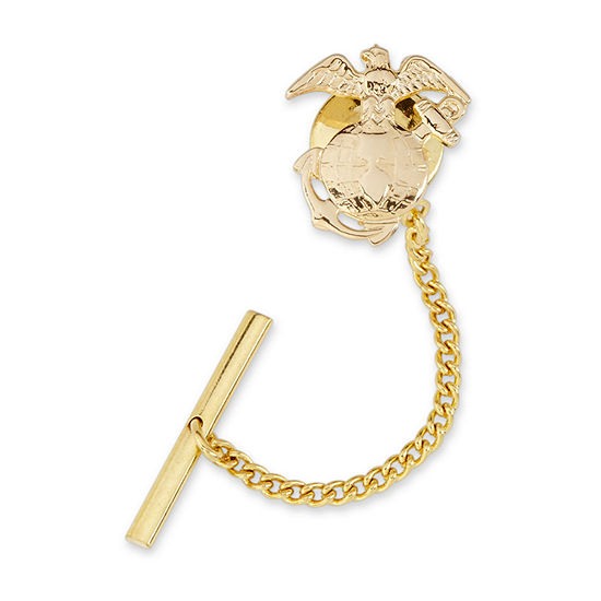 US Marines Gold-Plated Tie Tack