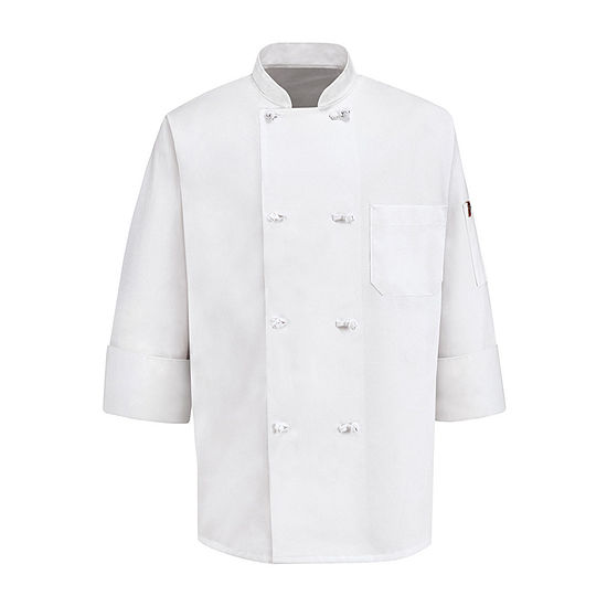 Chef Designs® 8-Knot Button Chef Coat