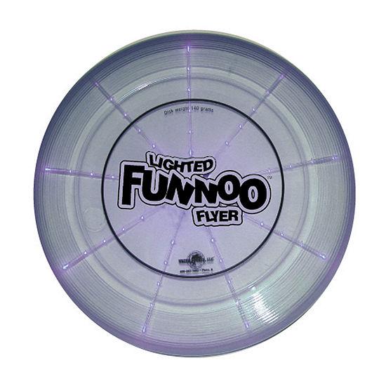 Backyard Fun - Lighted Funnoo Flyer - 170 Gram Disk