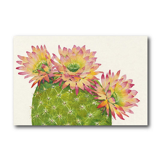 Courtside Market Desert Blossoms I Canvas Art