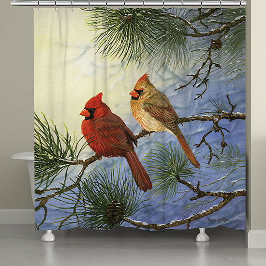 Laural Home Winter Solitude Shower Curtain