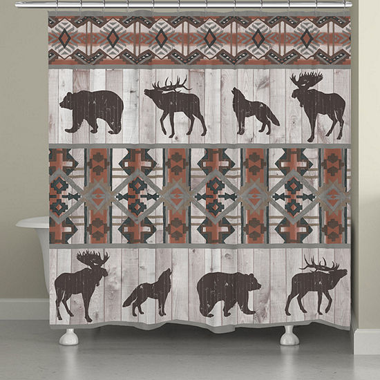 Laural Home Southwest Lodge Shower Curtain