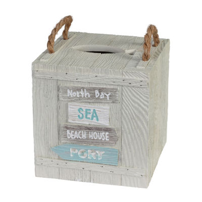 Creative Bath Driftwood Tissue Box Cover