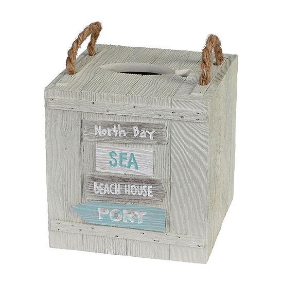 Creative Bath Driftwood Tissue Box Cover