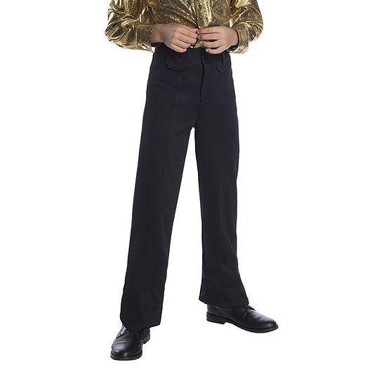 Boys Black Disco Pants Boys Costume
