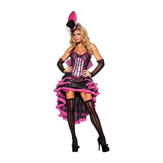 Burlesque Beauty 4-pc. Women's Dress Up Costume