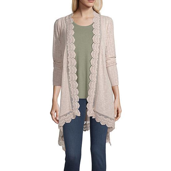 Artesia Womens Long Sleeve Cardigan