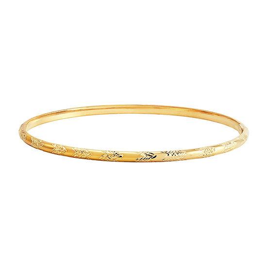 10K Gold Bangle Bracelet
