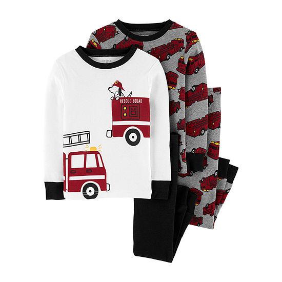 Carter's Baby Boys 4-pc. Pajama Set