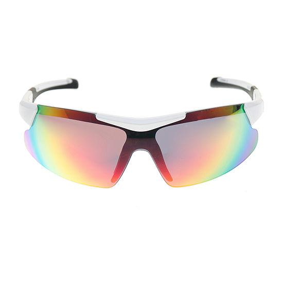 Xersion® White Blade Sunglasses