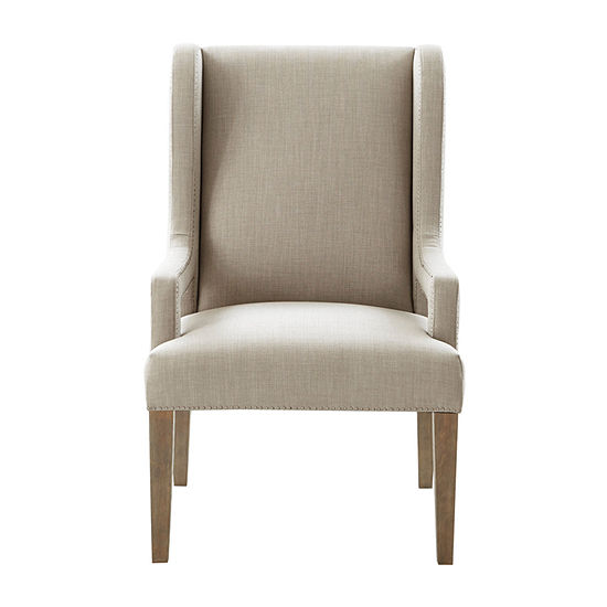 Madison Park Foxdale Nailhead Trim Wingback Chair