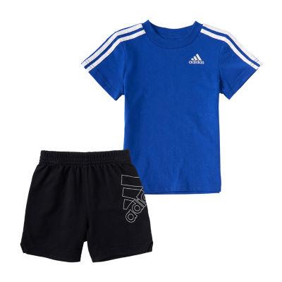 adidas Baby Boys 2-pc. Short Set