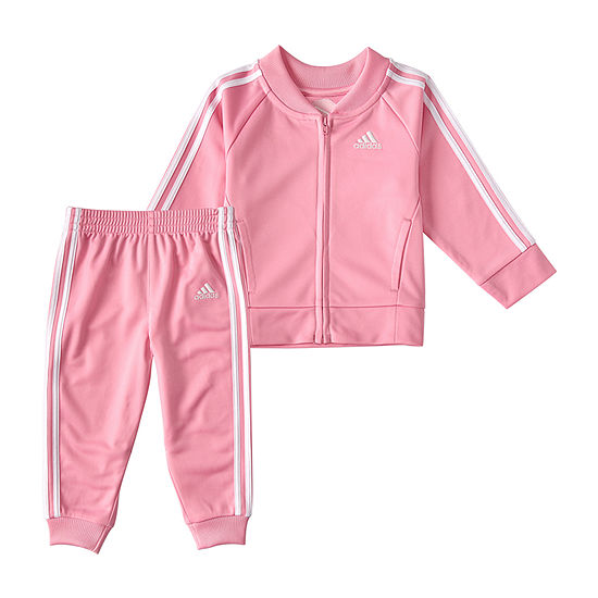 adidas Baby Girls 2-pc. Track Suit