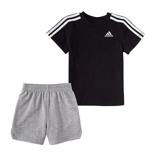 adidas Toddler Boys 2-pc. Short Set