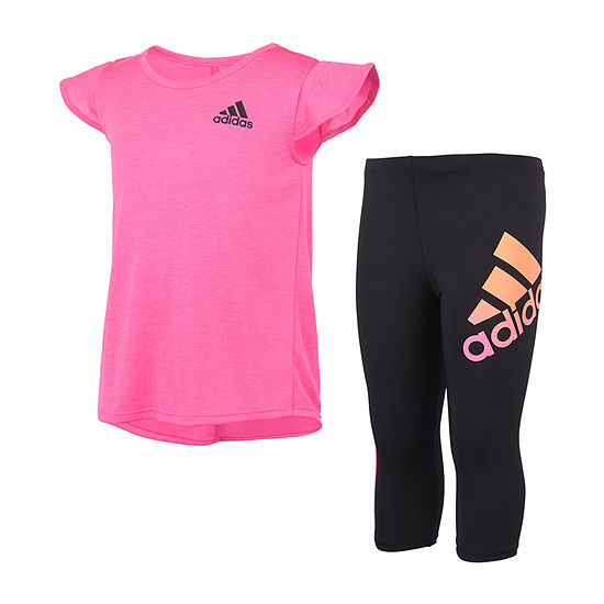 adidas Toddler Girls 2-pc. Legging Set