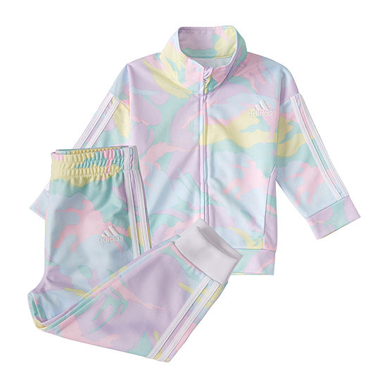 adidas Toddler Girls 2-pc. Floral Track Suit