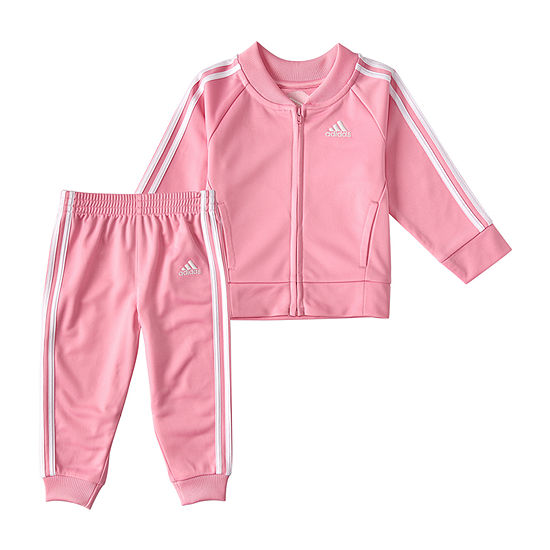 adidas Little Girls 2-pc. Track Suit