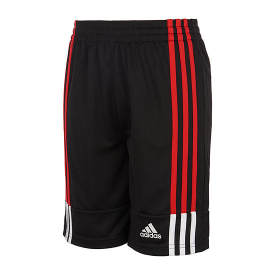 adidas Little Boys Mid Rise Pull-On Short