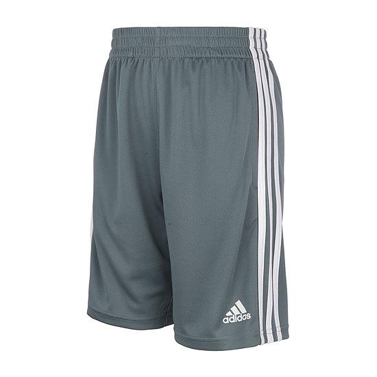 adidas Big Boys Mid Rise Adjustable Waist Pull-On Short