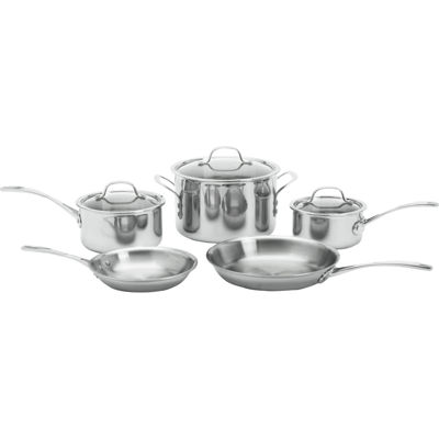 Calphalon® Tri-Ply 8-pc. Stainless Steel Cookware Set