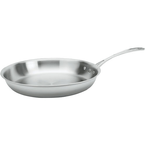 "Calphalon® Tri-Ply 12"" Stainless Steel Omelette Pan"