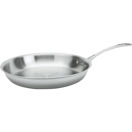 """Calphalon® Tri-Ply 12"""" Stainless Steel Omelette Pan"""