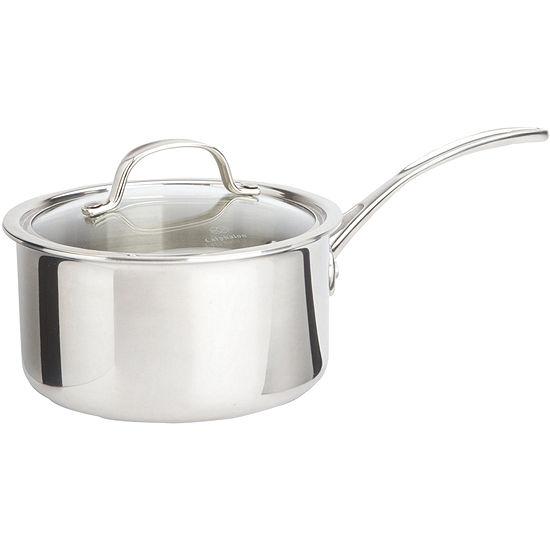 Calphalon® Tri-Ply 2.5-qt. Stainless Steel Saucepan