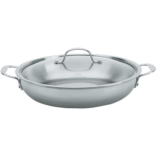 "Calphalon® Tri-Ply 12"" Stainless Steel Everyday Pan"