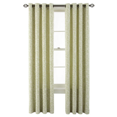 MarthaWindow™ Intertwine Grommet-Top Curtain Panel