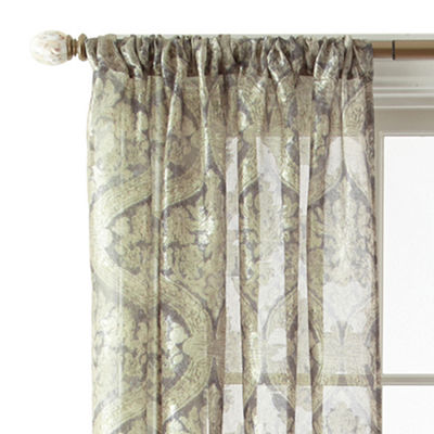 Royal Velvet® Opus Rod-Pocket Sheer Panel