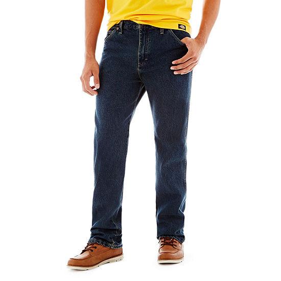 Dickies® Regular Straight Fit 6-Pocket Denim Jeans