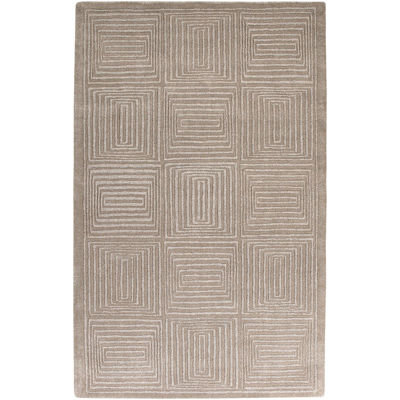Surya® Mystique Wool Meander Rectangular Rugs