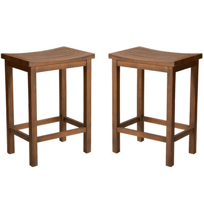 Barron Set of 2 Backless Barstools