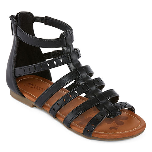 Arizona Adah Girls Gladiator Sandals - Little Kids