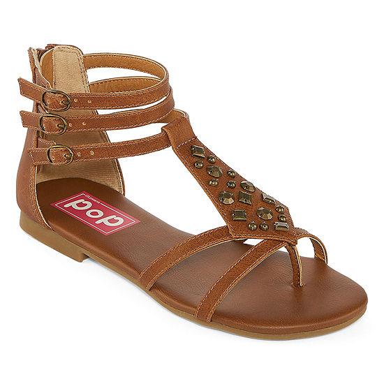 Pop Womens Satiny Strap Sandals