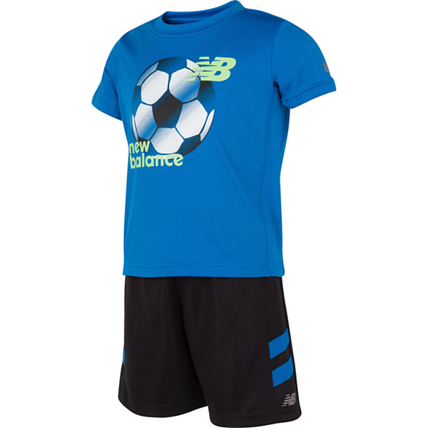 New Balance 2-pc. Short Set Toddler Boys